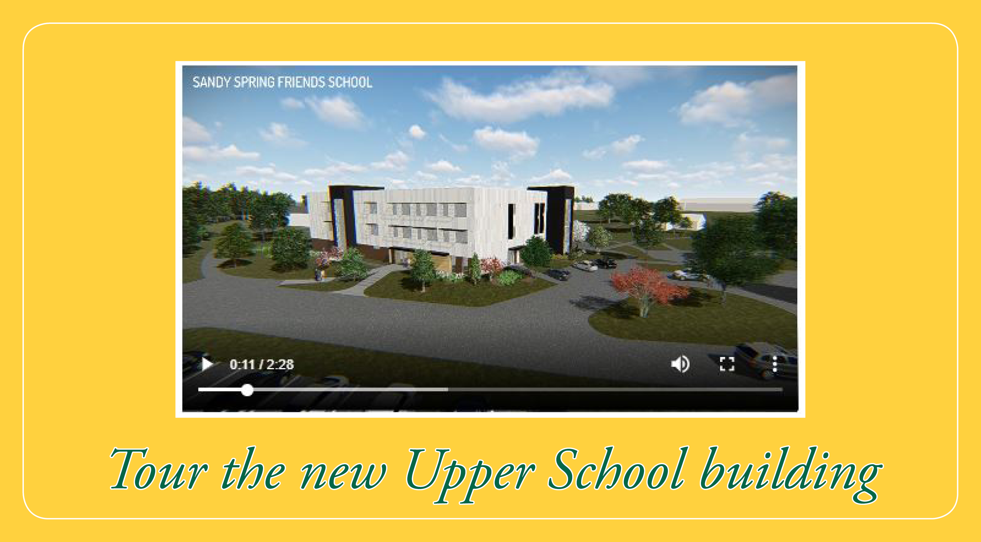 New Upper School Animation