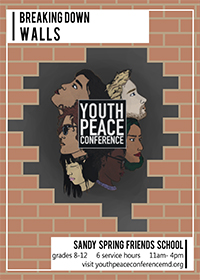2018 Youth Peace Conference Flyer