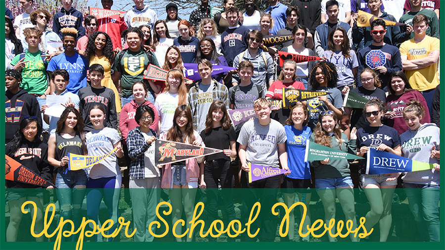 Upper School News