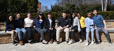 Student Diversity Leadership Conference participants (not pictured: Thomas P. and Fernanda V.)