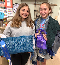 Middle School Weaving Competition Winners