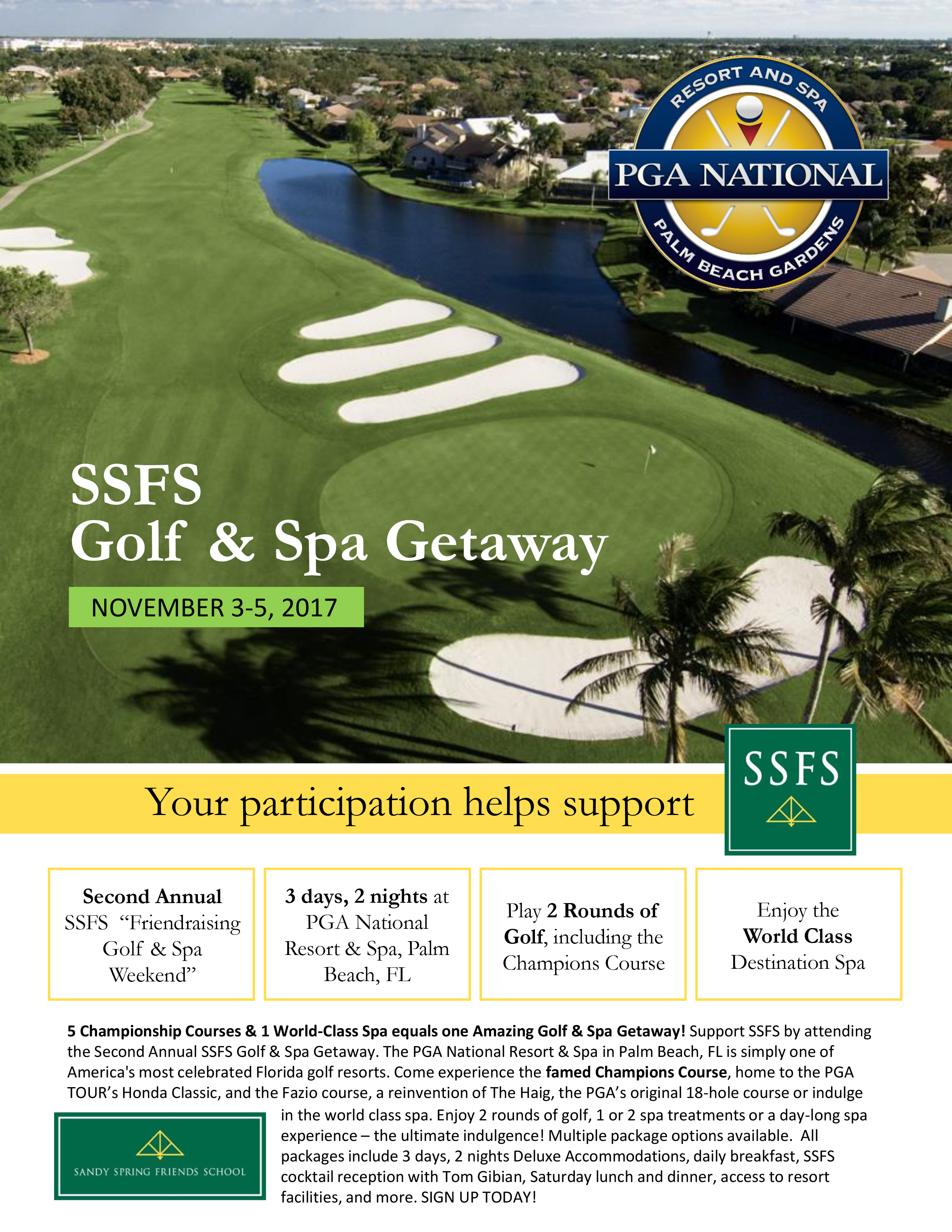 Golf & Spa Getaway - SSFS